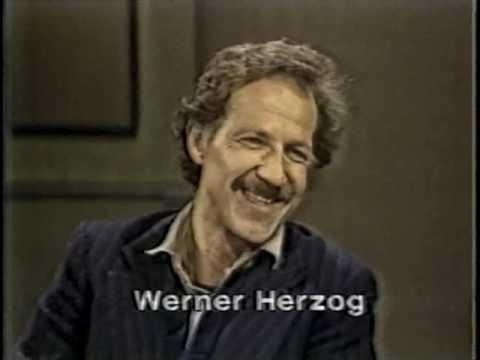 werner herzog on late night october 11 1982 youtube