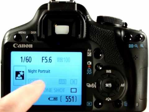 canon eos 500d tutorial video 10 night portrait mode youtube rh youtube com Canon EOS Rebel T1i canon 500d manual video control