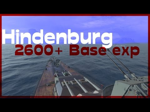 Hindenburg Deutscher Stahl - 2600+ Base exp - World of Warships