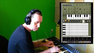Review: Caustic (Android) with Midi Usb Device