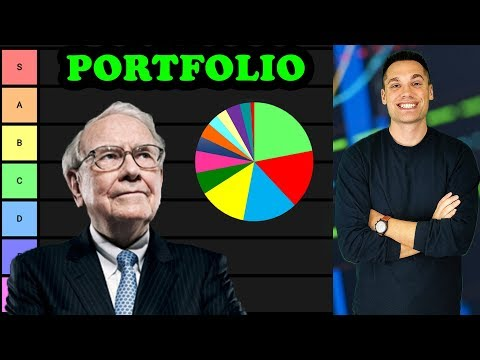 The First Ever TIER LIST of Warren Buffett's Stock Portfolio!