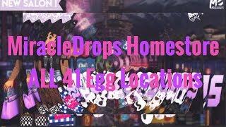 Eiersuche Standorte/ALLE 41 Standorte MIRACLEDROPS Homestore Roblox Royale High