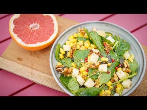 recette-rapide-:-salade-vitaminée-(épinards,-comté-et-noix,-vinaigrette-au-pamplemousse)
