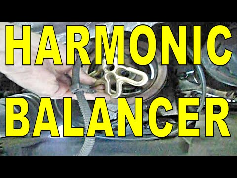 Harmonic Balancer /& Belt Drive Pulley for Chevy Oldsmobile Buick Pontiac