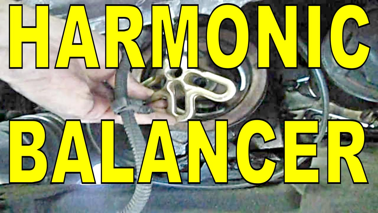 harmonic balancer vibration dampener crankshaft pulley gm 3 1 3 4 rh youtube com