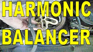 car HARMONIC BALANCER, vibration dampener, CRANKSHAFT PULLEY, GM 3.1 & 3800 Buick Chevy Olds Pontiac