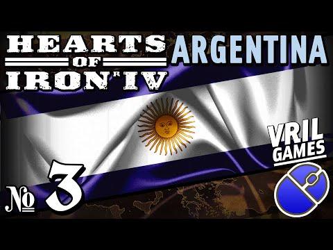 Hearts of Iron 4 | Fascist Argentina | Ironman Series #3