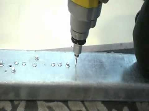 304 SS HWH SDS, drilling 2.5mm Metal