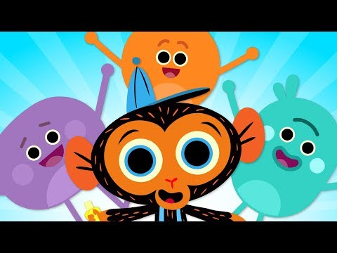 Cartoons For Kids | The Bumble Nums & Mr. Monkey Compilation