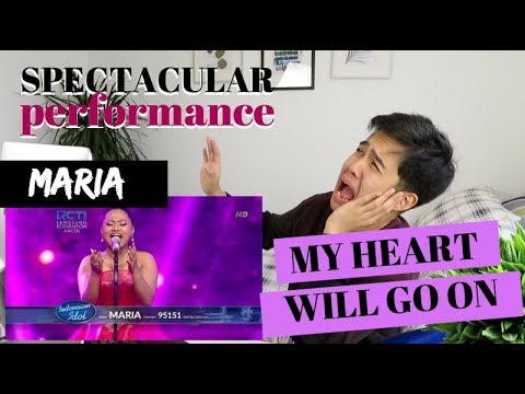 "MARIA - ""MY HEART WILL GO ON"" Grand Final - Indonesian Idol 2018