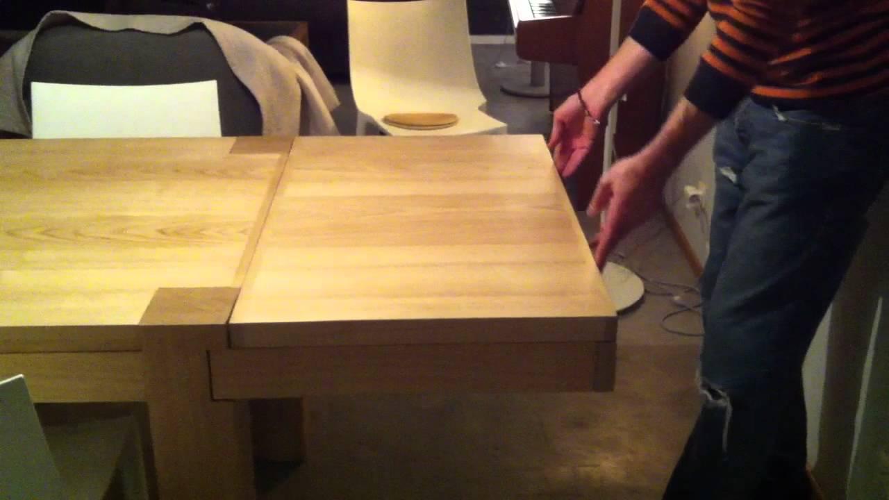 b s concept table brigitte pas tout fait comme les autres youtube. Black Bedroom Furniture Sets. Home Design Ideas