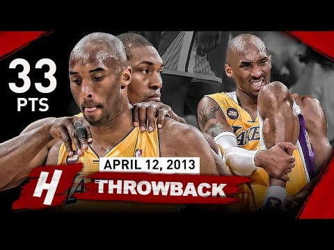 The Game that SHOCKED Laker Nation & Changed Kobe Bryants Career FOREVER vs Warriors (2013.04.12)