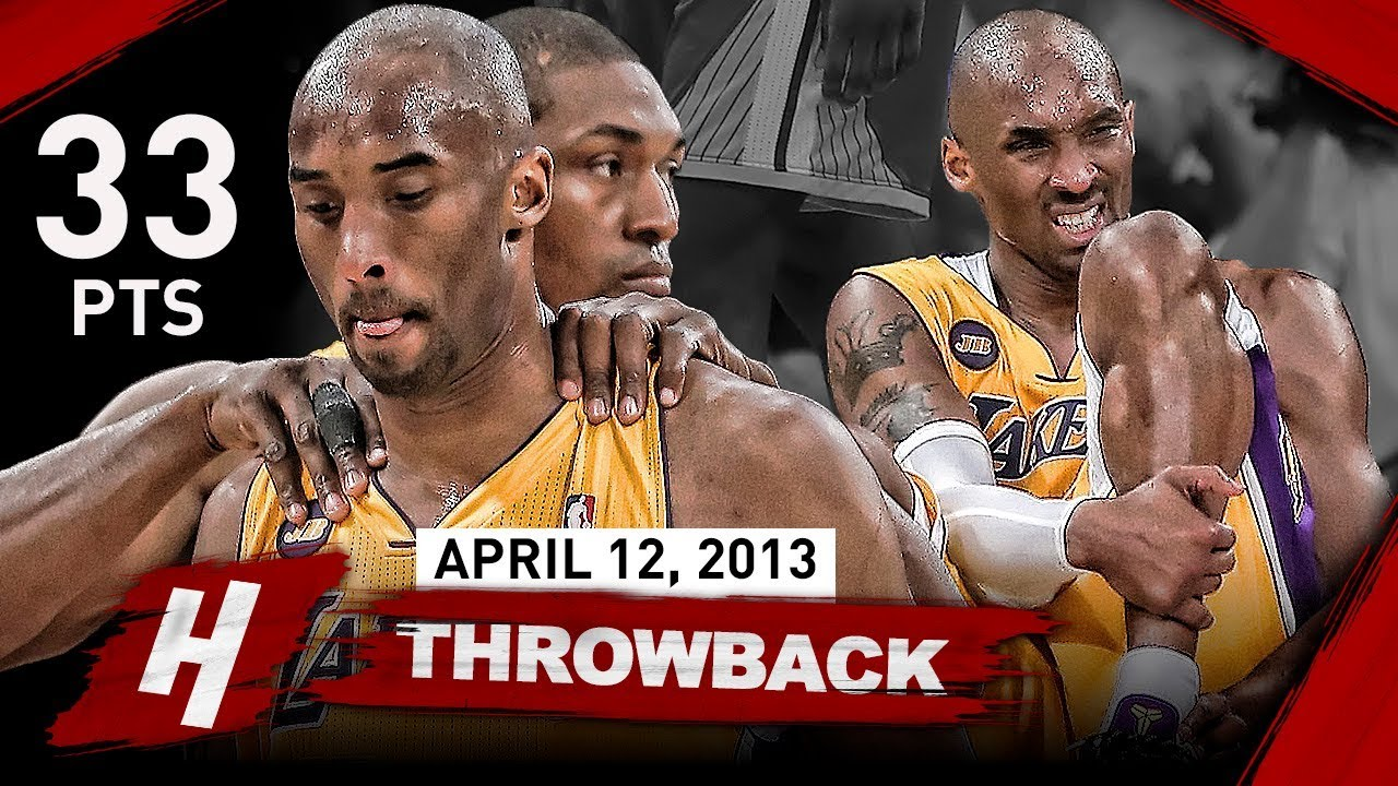 32e78f8f979 The Game that SHOCKED Laker Nation   Changed Kobe Bryant s Career FOREVER  vs Warriors (2013.04.12)