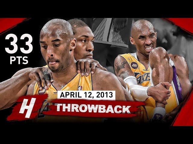 The Game that SHOCKED Laker Nation & Changed Kobe Bryants Career FOREVER vs Warriors (2013.04.12)
