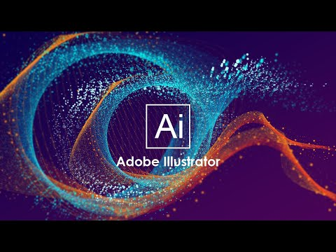 How to Make Vector Abstract Particles Using Adobe Illustrator