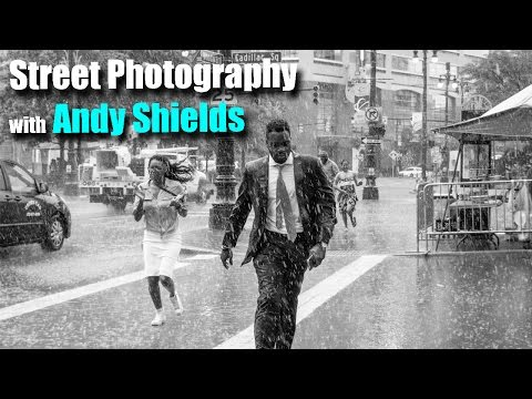 ANDY SHIELDS (w/Tony & Chelsea) LIVE Reviewing Your Street Photography!