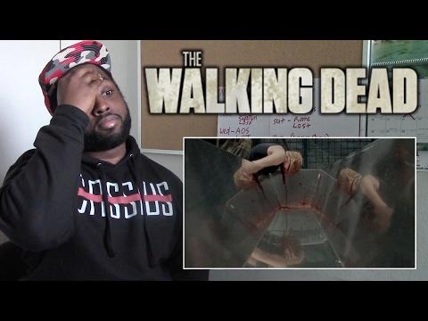 "The Walking Dead REACTION - 5x1 ""No Sanctuary"" - Part 1 - CATCHING UP"