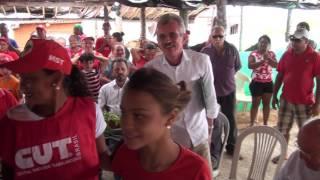 Diretor do DNOCS Angelo Guerra explica que acampados podem continuar na chapada do Apodi
