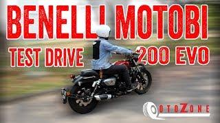 OTOZONE  : Test Drive Motor Benelli Motobi 200 Evo, Motor Modern Model Clasic
