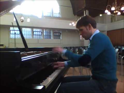 Bas Verheijden plays Alkan, Study Opus 39 No 7