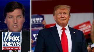 Tucker: CNN gloats over Trump's old taxes