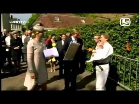 De ultieme 'Lucky TV' -Momenten van Koning Willy en Koningin Maxima - 19.36 min.