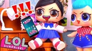 #Куклы ЛОЛ СМЕШНЫЕ ВИДЕО Мультики LOL Surprise Видео для детей #Игрушки Мастерская Барби
