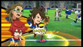 Inazuma Eleven go strikers 2013 My team vs Inazuma Legend Japan