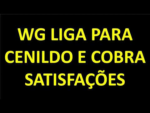 SAP 293 - CENILDO FOGE DE WG e não atende ligações de cobrança