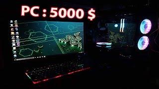 Gấu Vlogs - Show Dàn Máy Tính 100 triệu đồng (  computer xref )