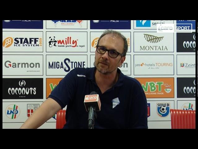 Icaro Sport. Rimini-Albissola 4-4, il dopogara di Fabio Fossati
