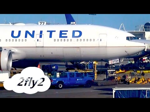 UNITED AIRLINES BOEING 777 LOS ANGELES - HONOLULU ECONOMY CLASS