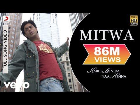 Mitwa Full Video - KANK|Shahrukh Khan,Rani Mukherjee|Shafqat Amanat Ali|Shankar Mahadevan