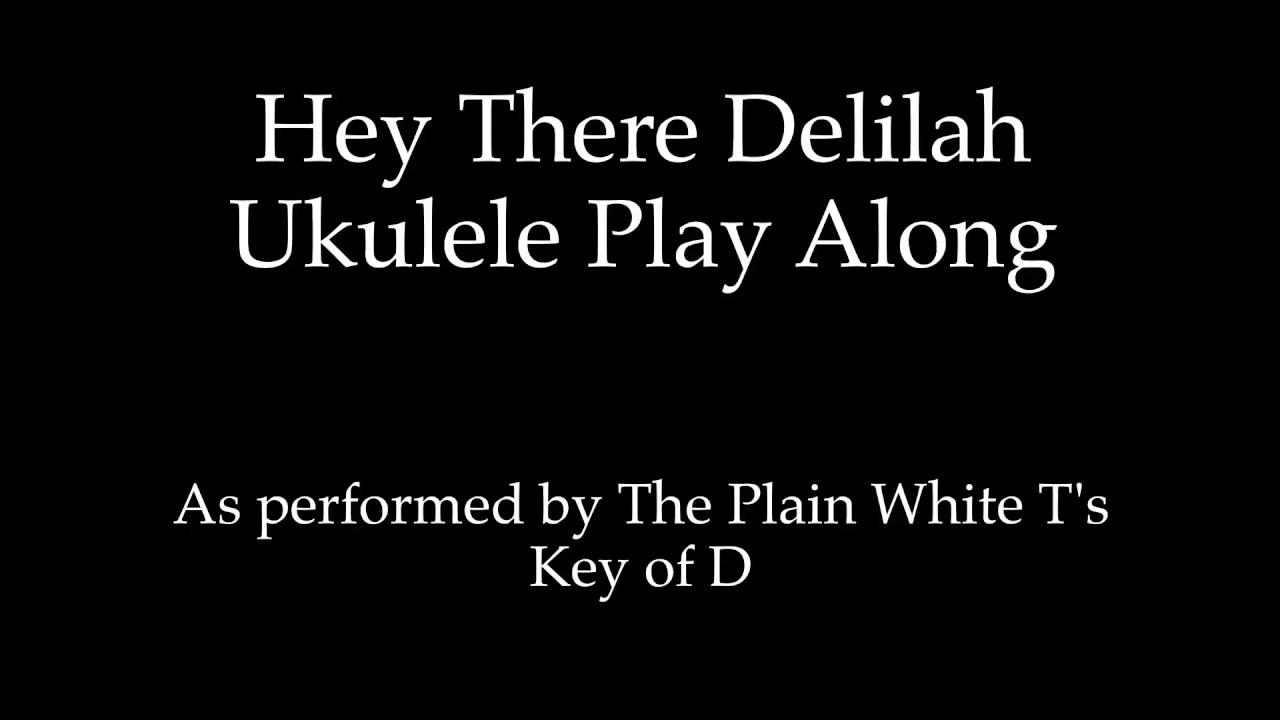 Hey there delilah ukulele play along original key of d youtube hey there delilah ukulele play along original key of d hexwebz Images