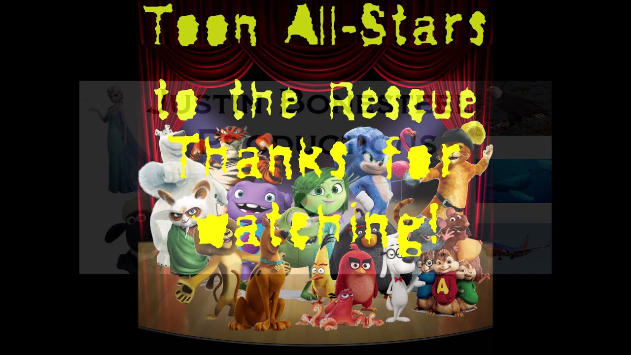 """""""Toon-All Stars to the Rescue"""" Part 13 - End Credits"""
