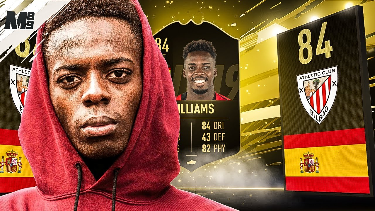 Fifa 19 If Inaki Williams Review 84 If Williams Player Review