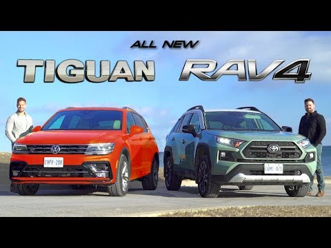 2019 Toyota RAV4 vs 2019 VW Tiguan // Battle For Best Compact SUV