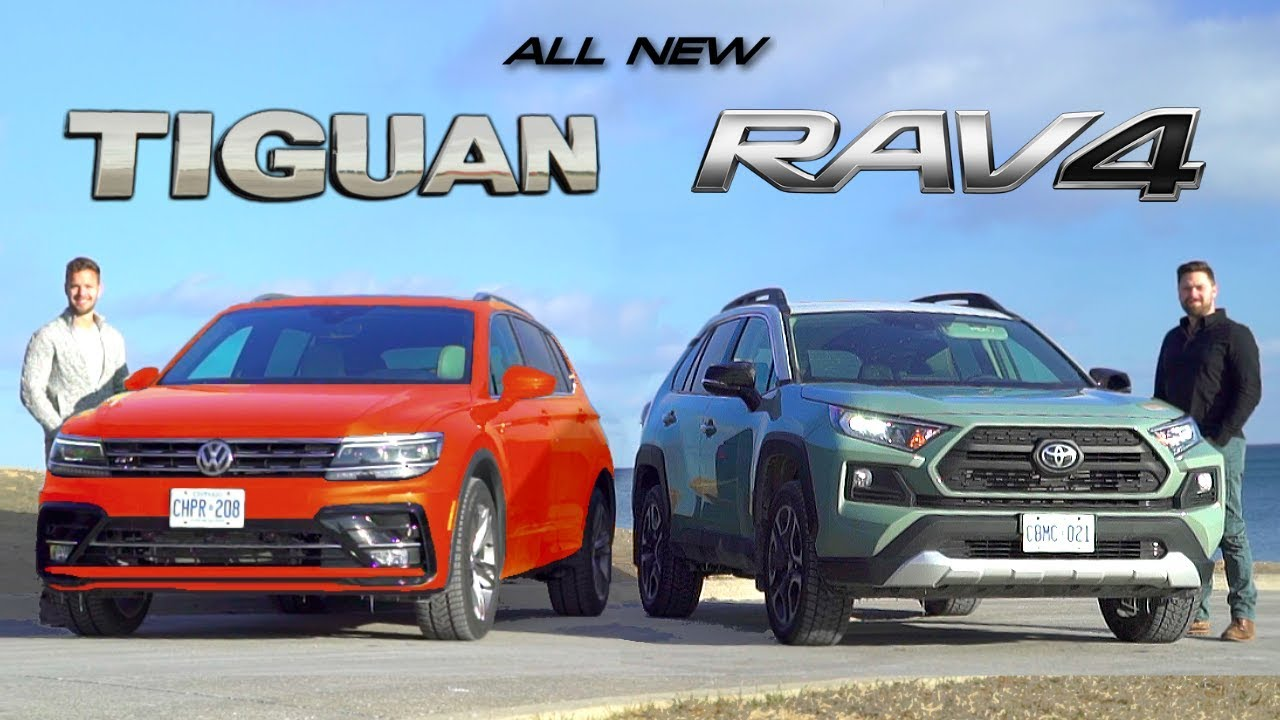 2019 Toyota RAV4 vs 2019 VW Tiguan // Battle For Best ...