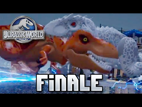 Final Fight!! + Giveaway RESULTS Jurassic World LEGO Game - FINALE