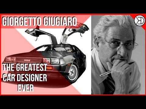 GIORGETTO GIUGIARO: The Greatest Car Designer Ever