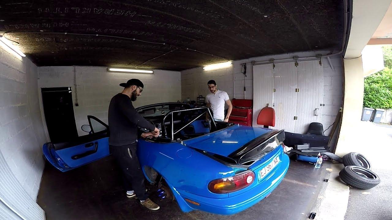 Installation Arceau Sur Mazda mx5