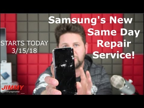 Samsung's New Same Day Repair Service!!! STARTS TODAY