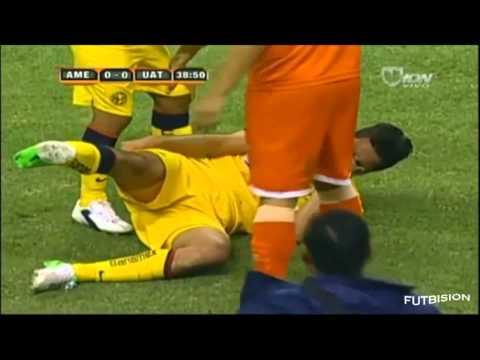 Jesus Sanchez / Efrain Juarez lesiones aparatosas
