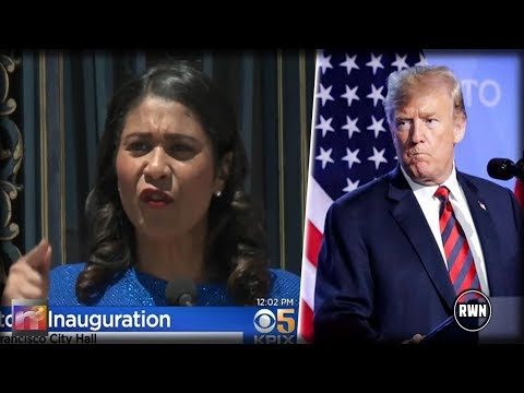 After Being Sworn In, New Sanctuary City Mayor Grabs Mic And Tells Trump What She's Going To Do
