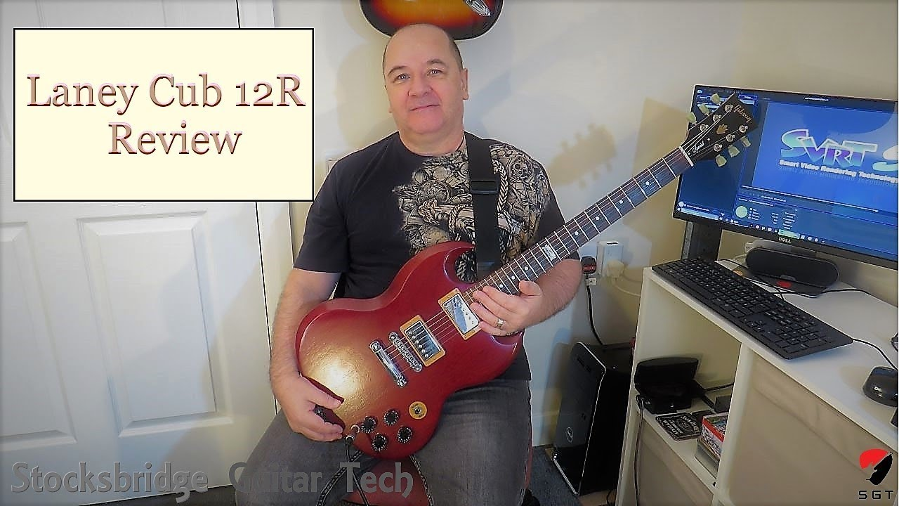 laney cub 12r guitar combo amplifier review youtube. Black Bedroom Furniture Sets. Home Design Ideas