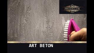 Декоративная штукатурка - ЛОФТовая выбеленная / Decorazza Art beton
