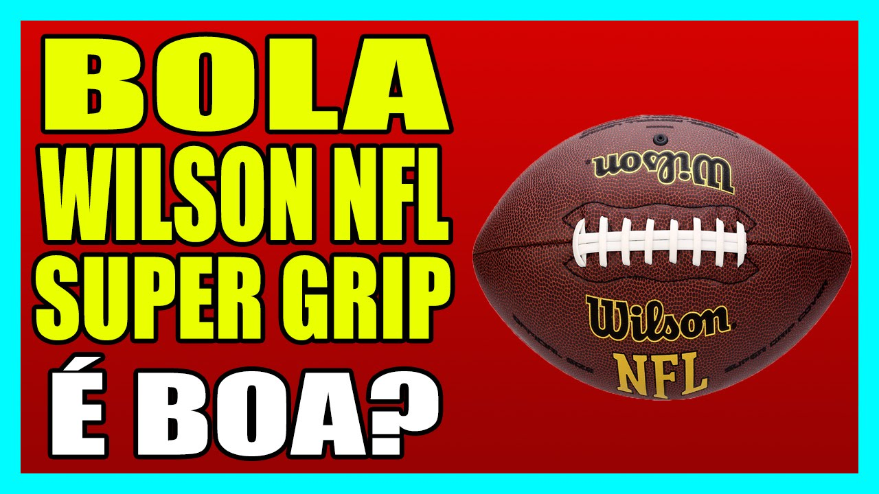 BOLA WILSON NFL SUPER GRIP - Bola d51e40cf2df99