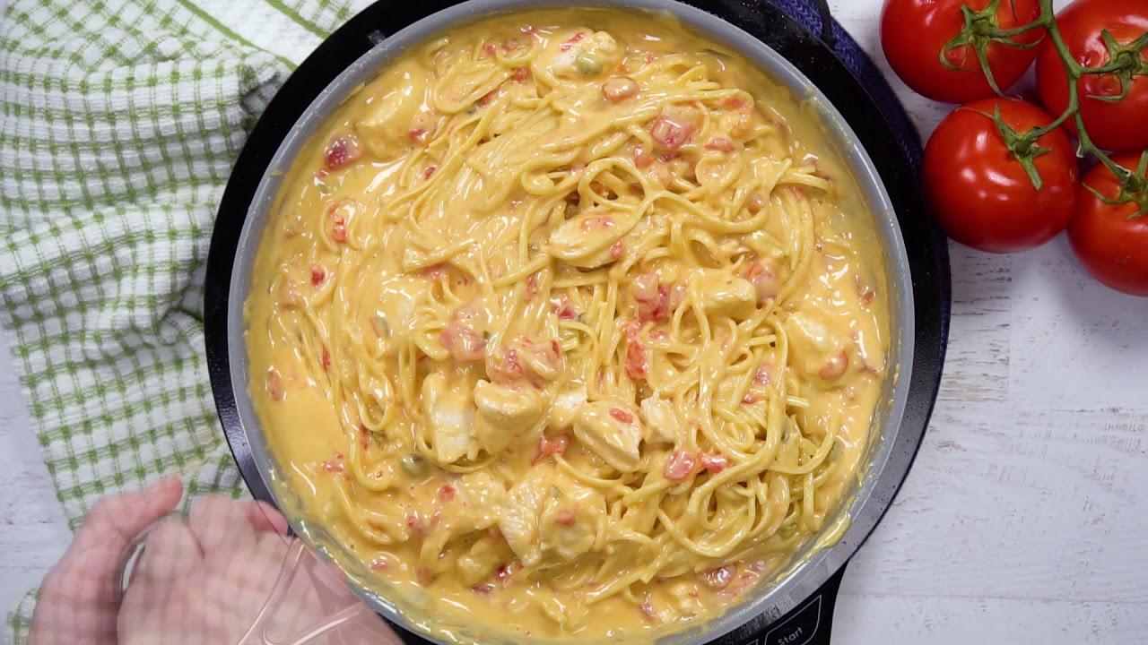 Rotel Chicken Spaghetti Youtube
