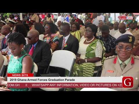 2019 Ghana Armed Forces Graduation Parade