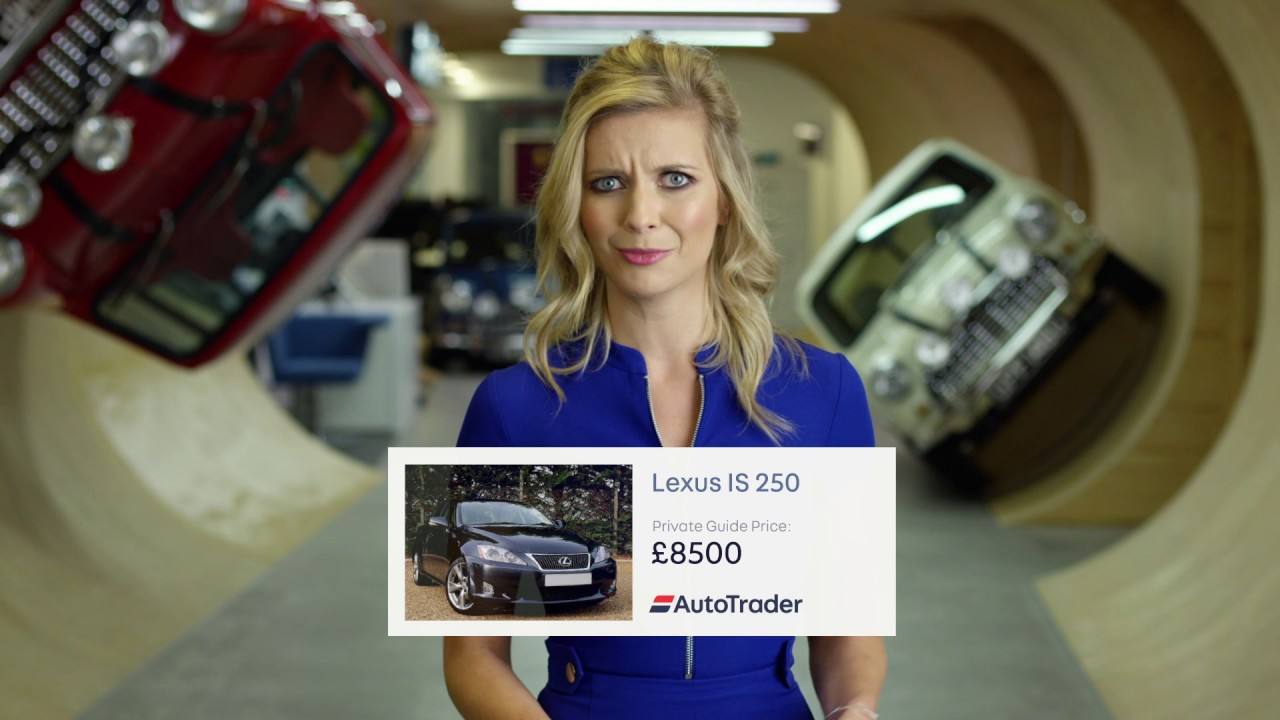 Rachel Riley: Car buying for a mid-life crisis #KnowYourNumbers - Dauer: 86 Sekunden